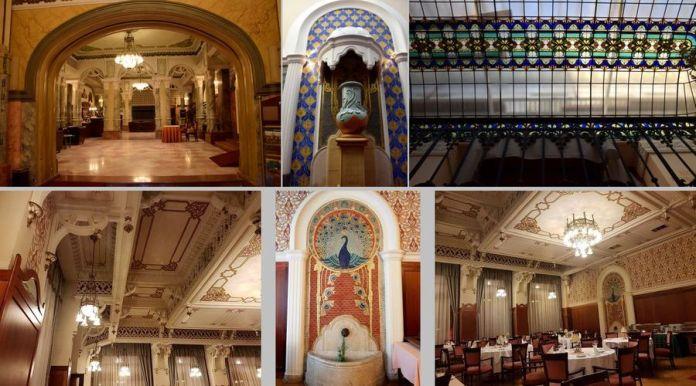 décors grand hôtel palatinus pécs
