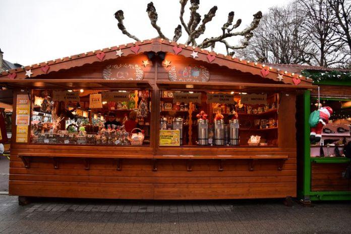 chalet marché de Noël Strasbourg