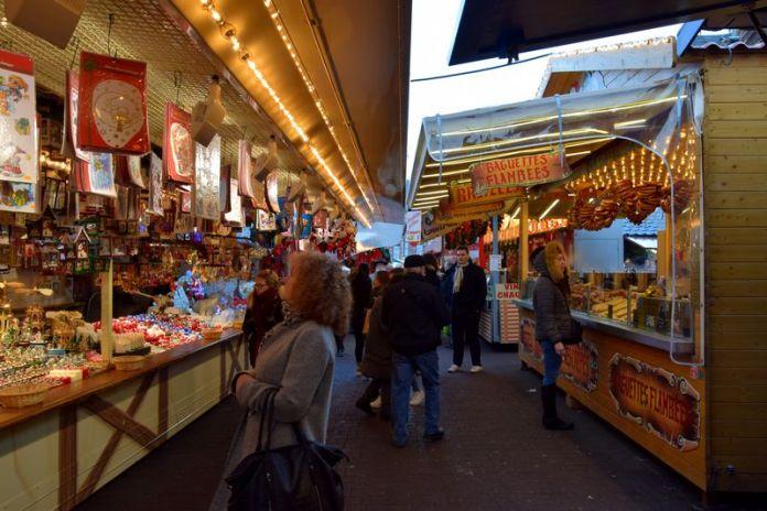 marché Noël place Broglie strasbourg