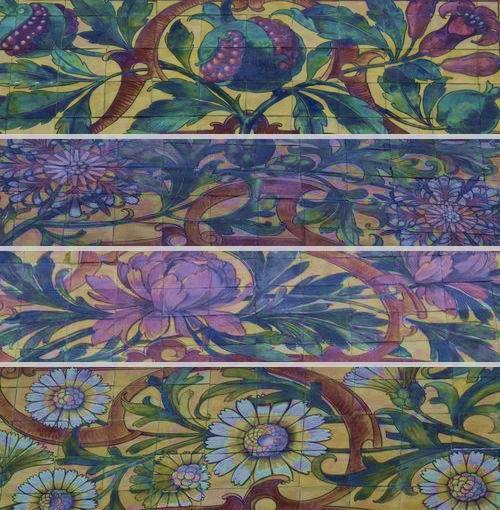 assemblage de motifs végétaux école des arts décoratifs strasbourg