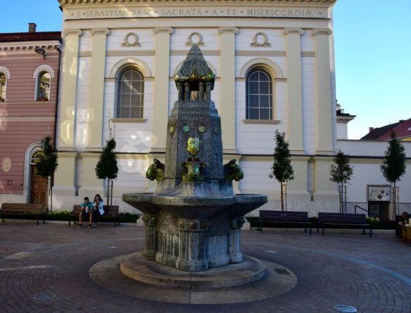 fontaine de Pécs