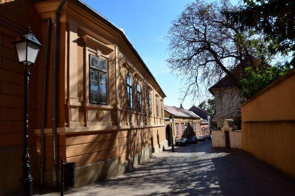 une rue où il fait bon flâner à Pécs