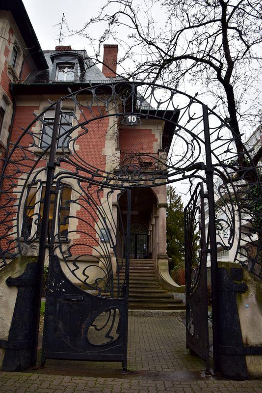 villa Knopf 10 rue Schiller strasbourg
