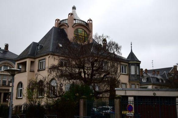 villa 4 rue erckmann-chatrian strasbourg