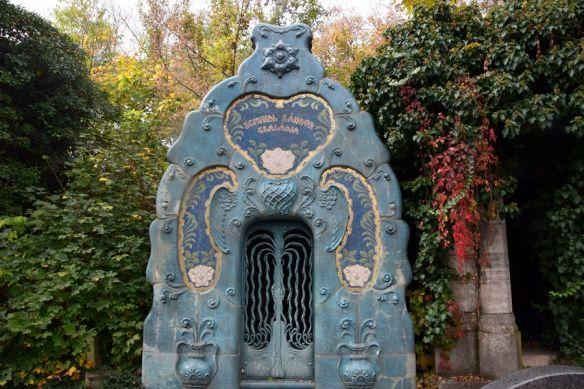 crypte famille schmidl cimetière juif budapest