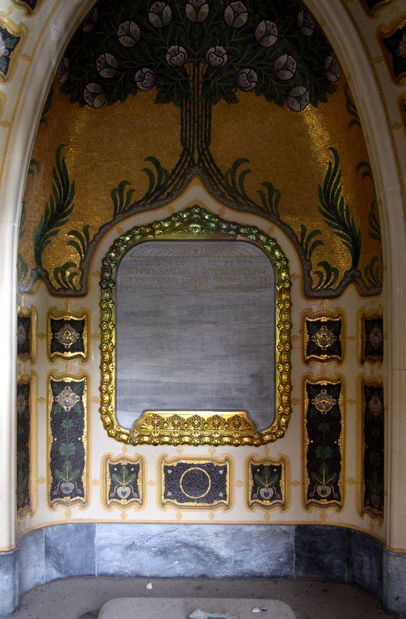 intérieur crypte famille Schmidl