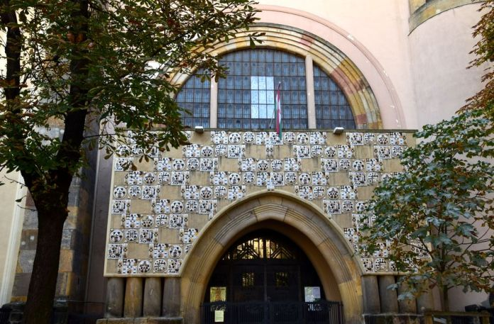 façade église réformée Fasor Budapets