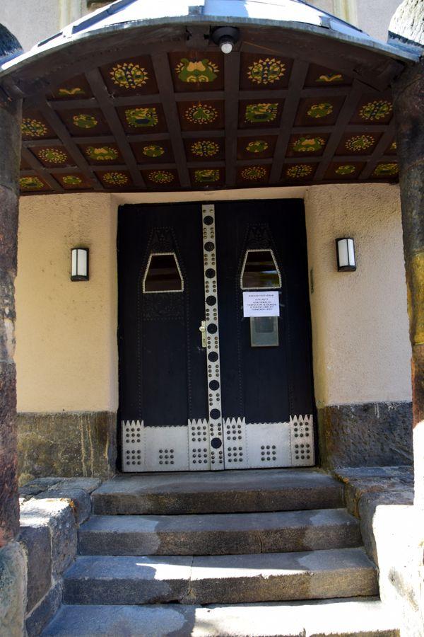 porte latérale église réformée fasor budapest