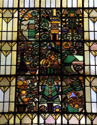 vitraux église réformée fasor budapest