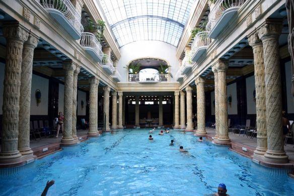 grande piscine bains gellért