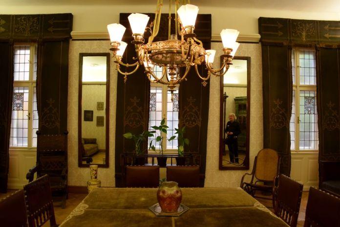 salle à manger miksa roth budapest