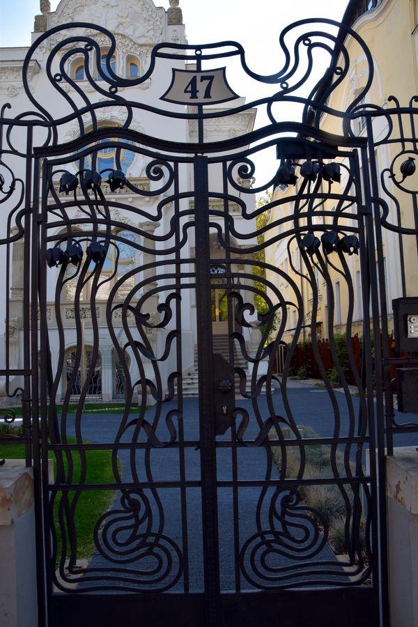 portail villa korossy budapest sécession