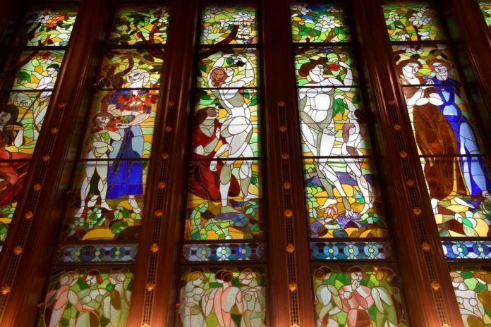vitraux villa schiffer Budapest