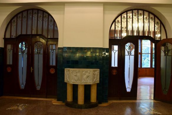 hall d'entrée villa schiffer budapest