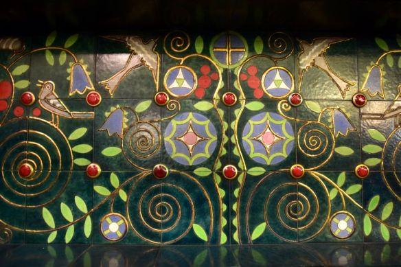 décor céramique villa schiffer budapest