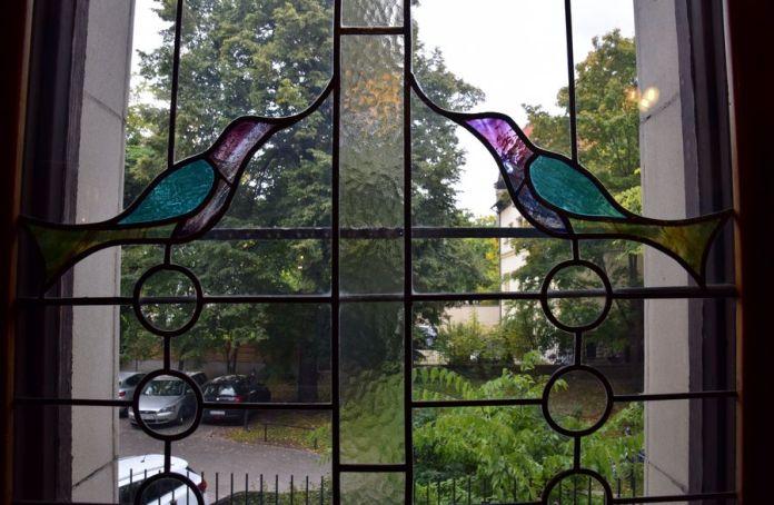 vitraux de la villa schiffer Budapest