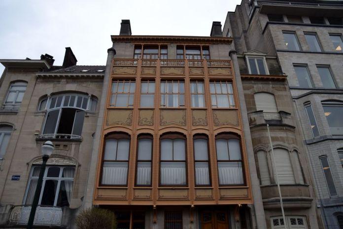 façade hôtel van eetvelde Bruxelles