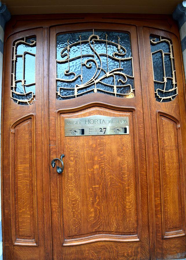porte d'entrée musée Horta