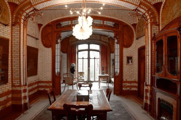 salle à manger musée Horta Bruxelles