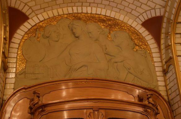 décor salle à manger musée Horta