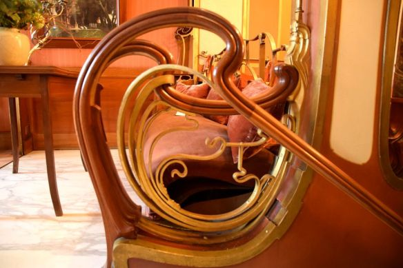 maîtrise des courbes par Victor Horta Bruxelles
