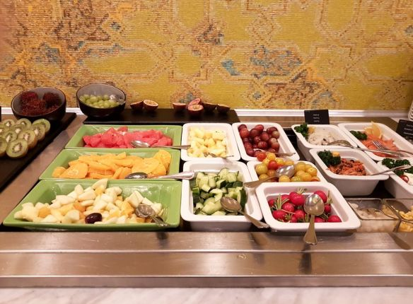 fruits et légumes hôtel Thon Bruxelles