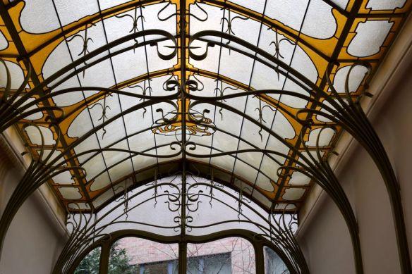 verrière ferronneries Hôtel Frison Bruxelles