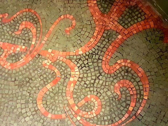 arabesques mosaïques Van Eetvelde Bruxelles