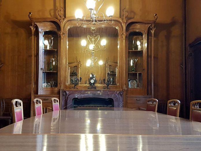 salle à manger hôtel Van Eetvelde Bruxelles