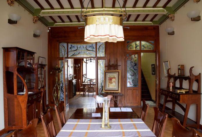 salle à manger maison Blerot Bruxelles