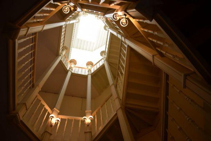 cage d'escalier maison Blerot