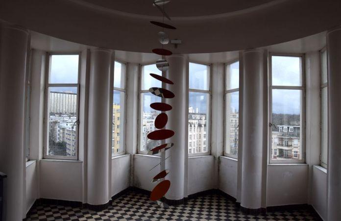 intérieur de la coupole du Palais de la Folle Chanson Bruxelles