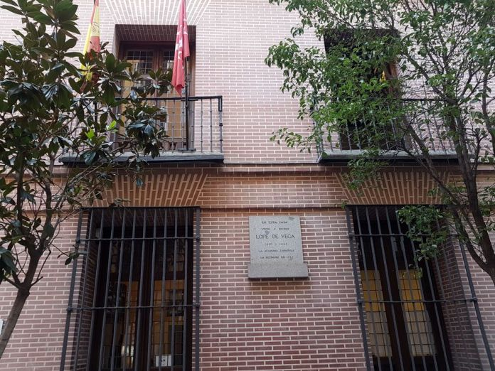 Maison de lope de vega à madrid