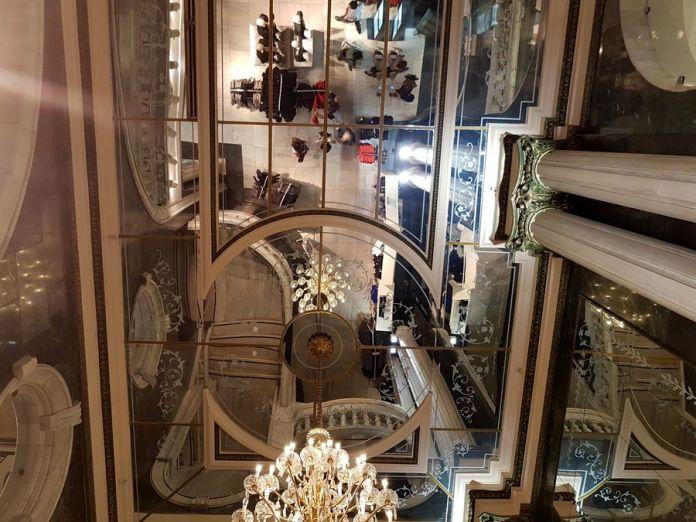 reflets de miroir