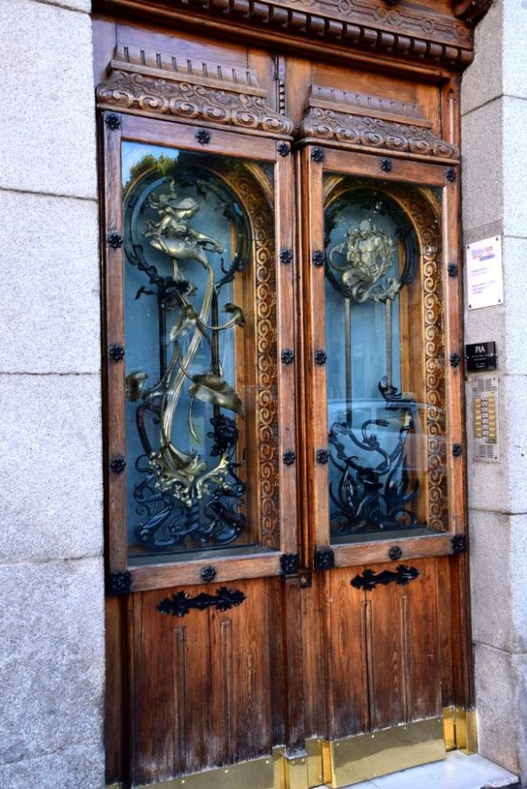 porte moderniste Madrid