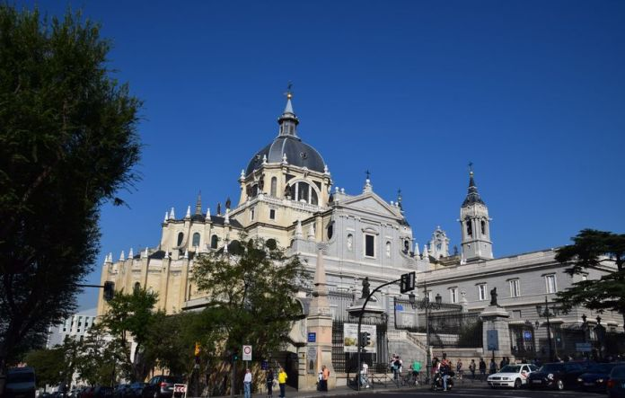 cathédrale de Madrid
