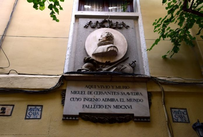 immeuble où vécut cervantes madrid