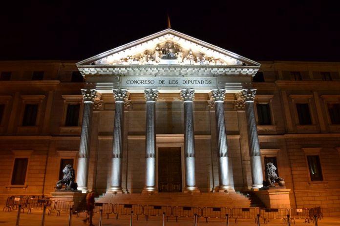 chambre des députés à Madrid