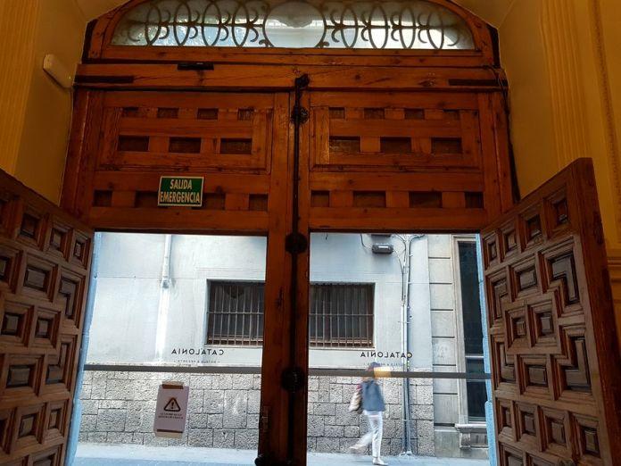 porte hôtel catalonia las cortes