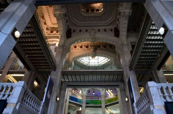 intérieur de la mairie de Madrid