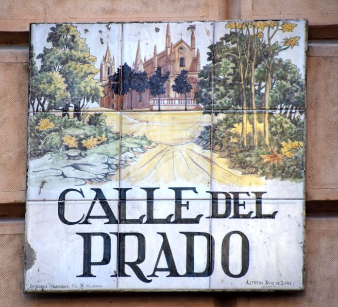 calle del prado madrid