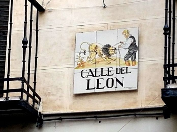 calle del Leon madrid