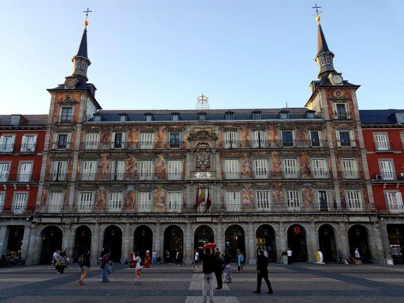 plaza mayor madrid casa de la panaderia