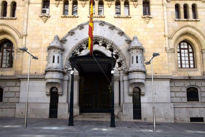 quartier général armée Madrid