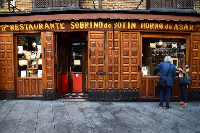 restaurant botin madrid
