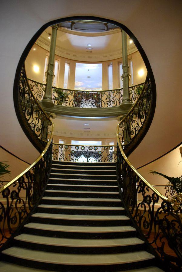 escalier palais longoria Madrid