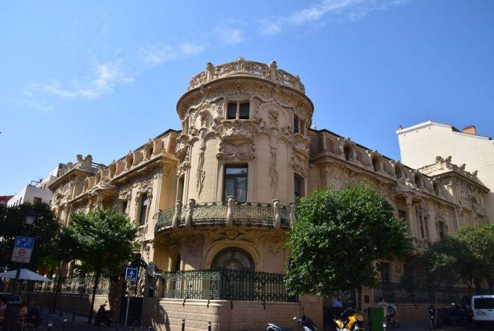 palais Longoria façades madrid