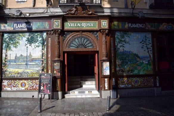 villa rosa madrid Flamenco