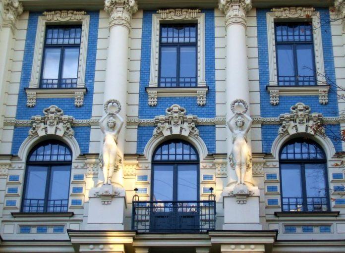 quartier Art nouveau Riga