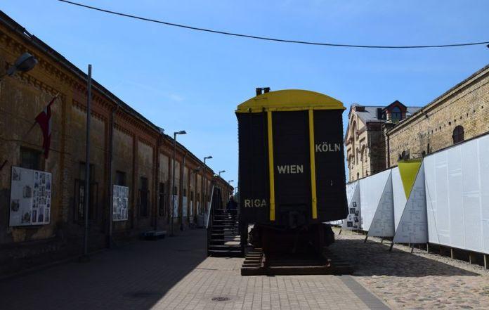 wagon musée juif riga